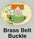 Hungarian Belt Buckle