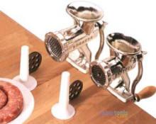 Meat & Poultry Tools - VillaWare Deluxe Meat Grinder/Sausage Maker Set