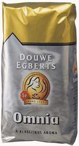 Douwe Egberts Omnia 1000 gr szemes, pörkölt kávé